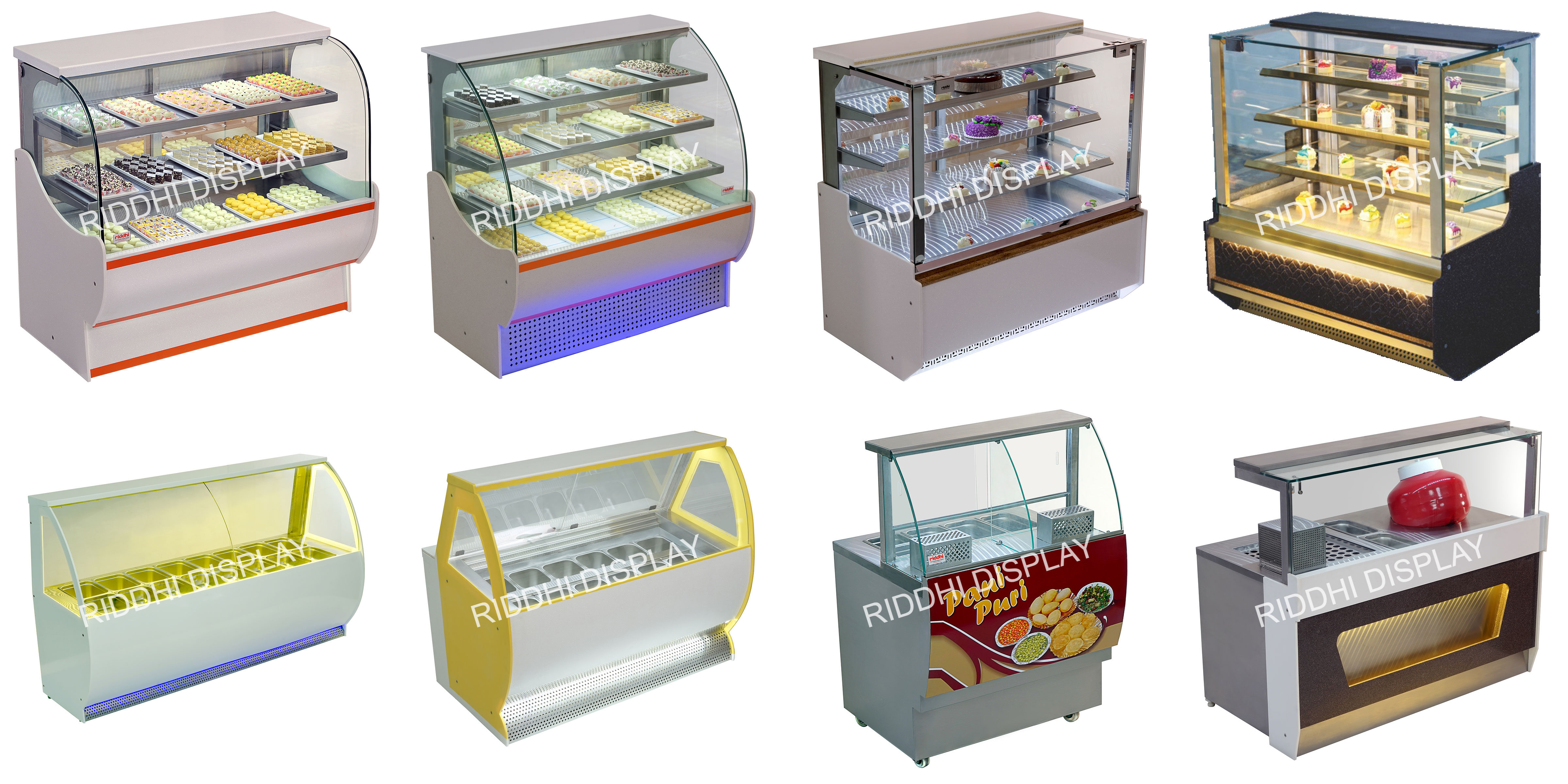 Display Counter Types